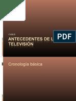 ANTECEDENTES DE LA TELEVISIÓN POR CABLE
