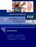 Abnormal delivery1