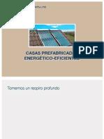 Casas Prefabricadas Energético-Eficientes