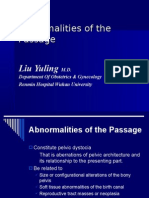 Abnormalities of the Passage-williams