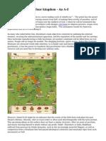 Criteria Of empire four kingdom - An A-Z