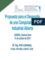 Presentacion Propuesta Para El Desarrollo de Una CIAA v2.3