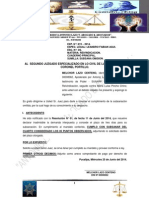 Al 2do Juzgado Especializado en Lo Civil - Subsana Demanda
