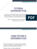 __ Tutorial de Supension Plus