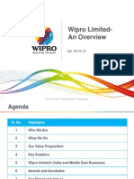 Wipro Limited Overview - Q4 - 2013-14
