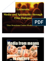 Media and Spirit thru Film Dialogue
