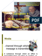 Media and Spirituality Course