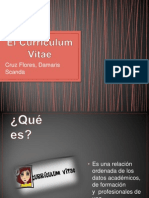 El Currículum Vitae