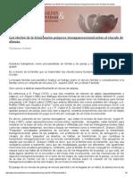 Psicoanálisis & Intersubjetividad_ Los Efectos de La Transmisión Psíquica Transgeneracional Sobre El Vínculo de Alianza