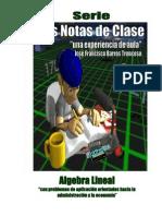 Mis Notas de Clase de Algebra Lineal