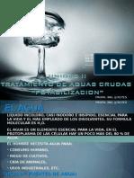 Unid II Potabilizacion Del Agua