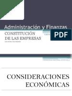 Constitución de Las Empresas