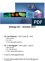 Lecture 1 - Plasma Membrane I (Lipids and Proteins)