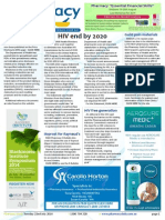 Pharmacy Daily for Tue 22 Jul 2014 - HIV end by 2020, Sigma backs local pharmacy, Pharmacy in AB resistance, NAPSA charity record and much more