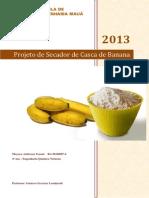 Projeto Secador de Casca de Banana