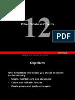 otherdatabase Objects