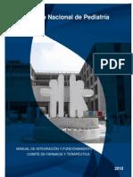 Manual de Integración y Funcionamiento Del Comité de Farmacia y Terapéutica - INP