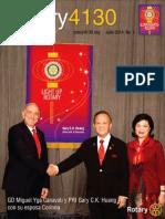 Distrito 4130 | Carta Del Gobernador - Julio 2014
