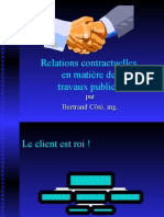 Relations Contractuelles