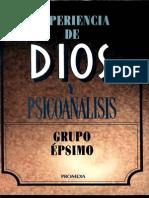 Experiencia de dios y psicoanálisis