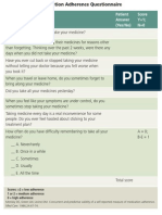 Morisky 8-Item Medication Adherence Questionnaire