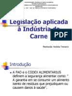 Legislacao_aplicada a Industria de Carnes