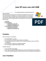 Installer Windows Xp Avec Une Clef Usb 17946 Mpml85
