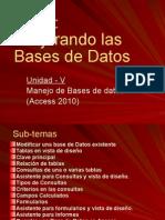 Clase 3 de Access 2010