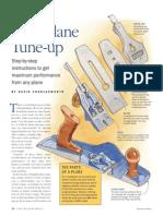 4 - Handplane Tune Up