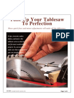11 -Tuneup Table Saw