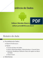 Aula08-Persistência de Dados.ppt