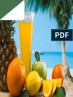 frutas adeshivo