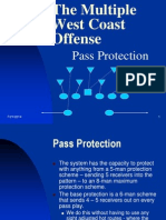 Pass Protection in the Multiple West Coast Offense