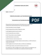 1-Evolucion de Las t. _ronald Mena__