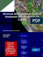 Alcances SGA Cañete