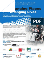 Changing Places Conference