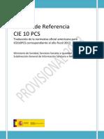 CIE 10 PCS M Referencia 2013