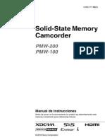 Pmw-200 Manual de Instrucciones Espanol