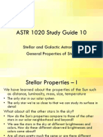 A 1020 Template Study Guide 10 Star Properties