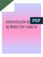 Admon Lineas y Productos