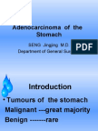 Adenocarcinoma  of  the   Stomach
