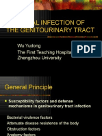 BACTERIAL INFECTION OF THE GENITOURINARY TRACT