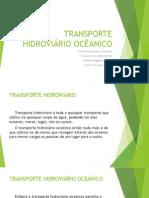 Transporte Hidroviário Ocêanico