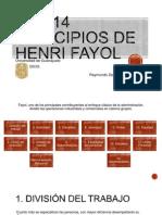 Los 14 principios de Henri Fayol