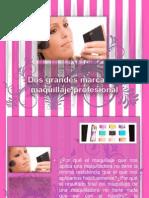 Dos Grandes Marcas de Maquillaje Profesional