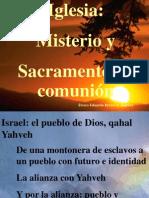 (3) Iglesia, Misterio y Sacramento de Comunion