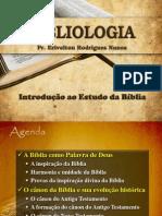Bibliologia - Inspiração e Cânon