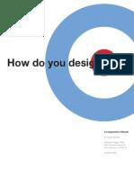 How do you design (design-process)