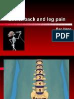 Degenerative disorders of lumbar spine2007