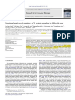 Functional Analyses of Regulators of G Protein Signaling in Gibberella Zeae